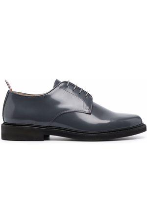Thom Browne Uniform RWB stripe Derby shoes - Grey