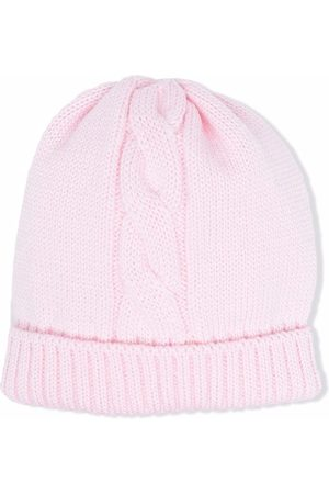SIOLA Cable-knit beanie
