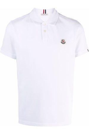 Moncler Logo-patch short-sleeve polo shirt