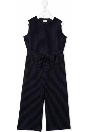 Il gufo Pinstripe pattern jumpsuit