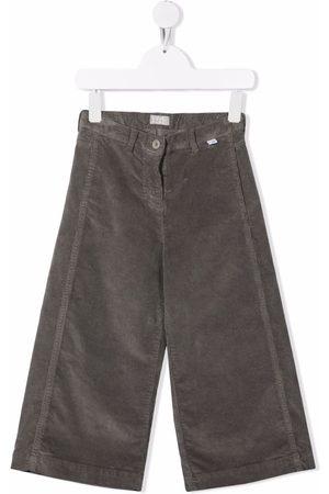 Il Gufo Wide-leg corduroy trousers - Grey