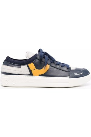 Salvatore Ferragamo Logo-print lace-up sneakers