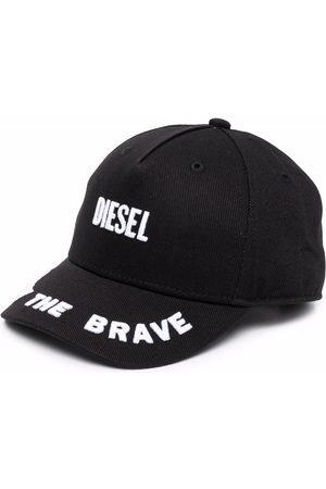 Diesel Kids Embroidered logo baseball cap