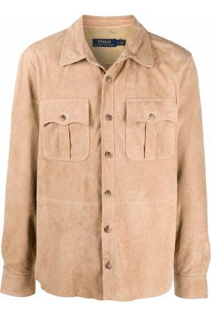 Polo Ralph Lauren Suede safari jacket - Neutrals