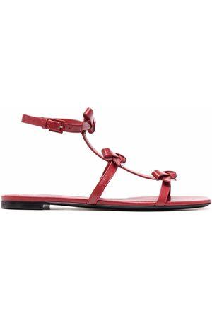 VALENTINO GARAVANI Women Flat Shoes - Bow-detail flat sandals
