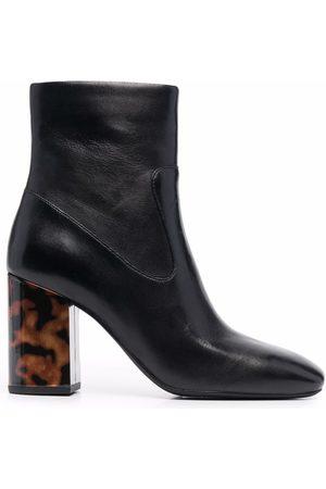 Michael Kors Tortoiseshell-heel boots