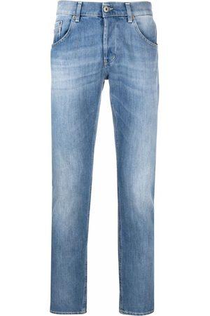 Dondup Men Slim - Light-wash slim-fit jeans