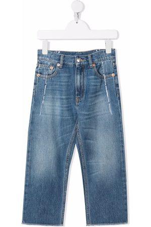MM6 KIDS Mid-rise straight-leg jeans