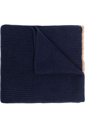 ELEVENTY Ribbed cashmere scarf