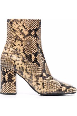 Michael Kors Snakeskin-detail ankle boots