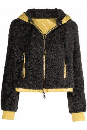 Moncler Brunelle reversible hooded bomber jacket - Grey