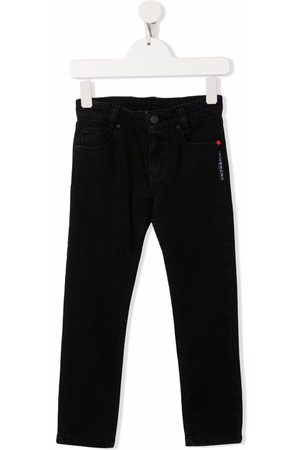 Givenchy Kids Embroidered logo jeans