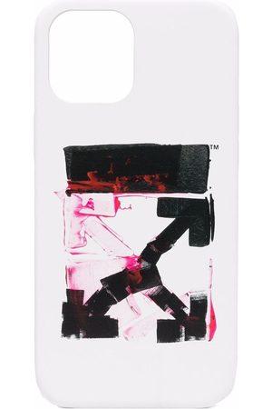 OFF-WHITE Arrow-print iPhone 12 Pro Max case