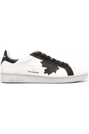 Dsquared2 Maple leaf low-top sneakers
