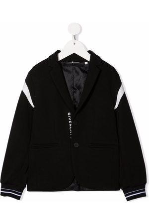 Givenchy Logo-patch panelled blazer