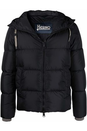 Herno Hooded down-padded jacket