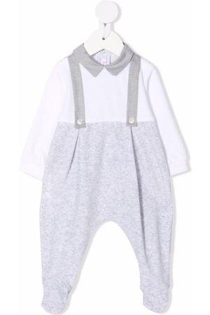 Il Gufo Colour-block long-sleeve pajama