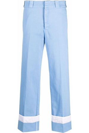 Nº21 Turn-up hem denim trousers