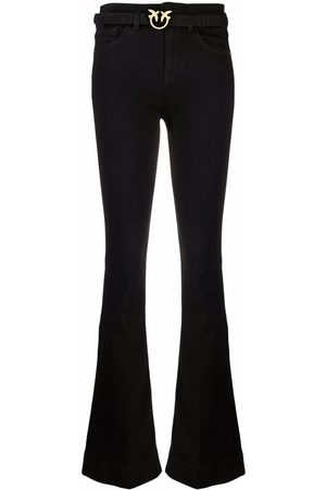 Pinko Flora flared trousers