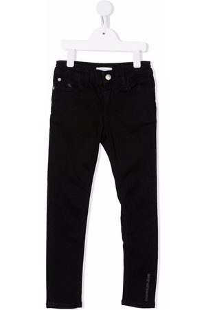 Calvin Klein Kids Girls Slim - Slim-cut denim jeans