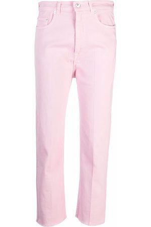Nº21 Cropped straight-leg jeans