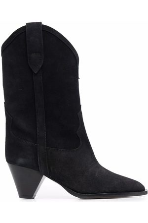 Isabel Marant Duerto 40 western suede boots
