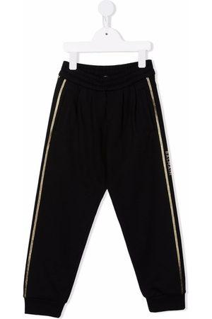 Balmain Kids Side stripe-detail track pants