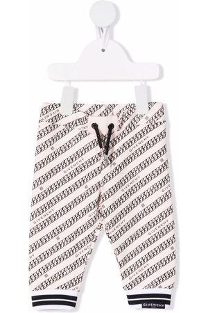 Givenchy Kids Logo-print drawstring track pants