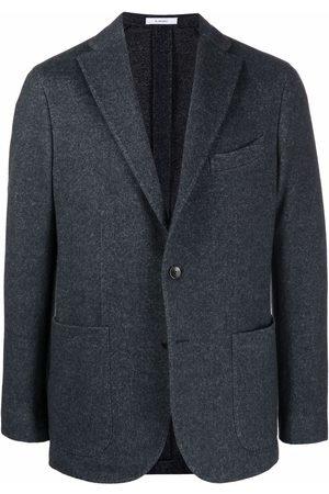 Boglioli Single-breasted wool-blend blazer