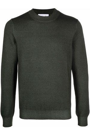 D4.0 Fine-knit virgin wool jumper