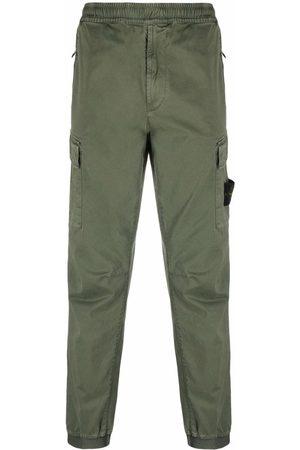 Stone Island Elasticated-waist cargo trousers