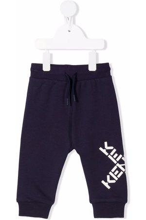 Kenzo Kids Logo-print track pants
