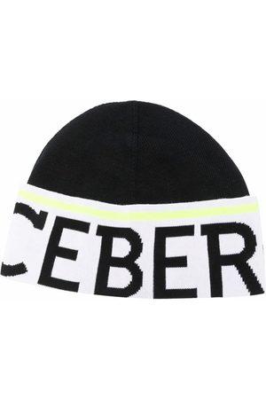 Iceberg Logo knit beanie