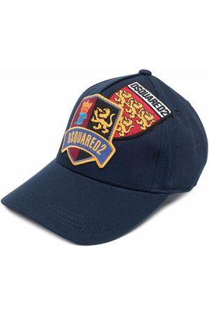 Dsquared2 Kids Logo-patch baseball cap
