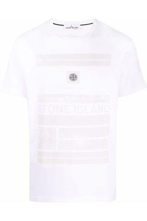 Stone Island Men Short Sleeve - Logo-patch short-sleeve T-shirt
