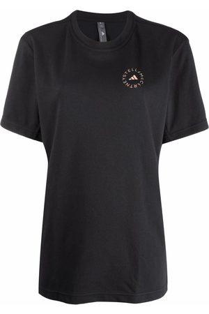 adidas by Stella McCartney Short-sleeved logo-print T-shirt