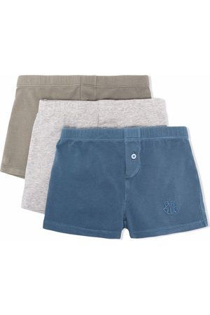 Bonpoint Embroidered-logo boxer pack
