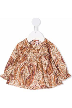 Bonpoint Paisley-print blouse - Neutrals