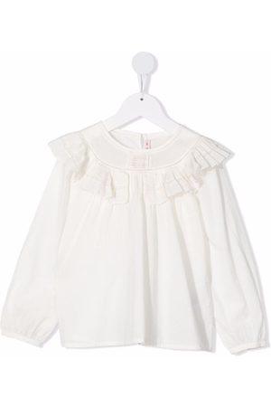 Bonpoint Ruffle-trim blouse