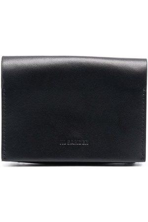 Jil Sander Embossed logo leather wallet