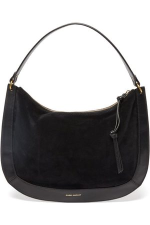 Isabel Marant Maokou Leather-trim Suede Shoulder Bag - Womens
