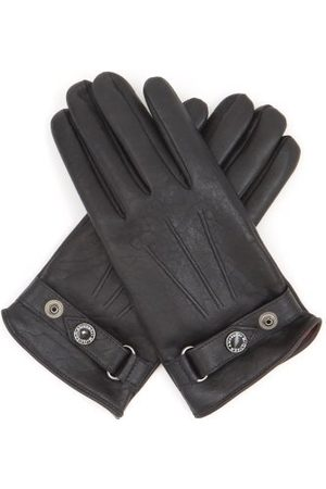 Alexander McQueen Cashmere-lined Leather Gloves - Mens