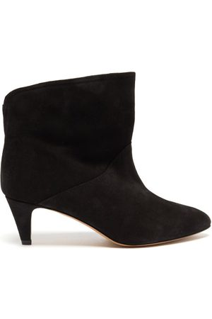 Isabel Marant Defya Suede Ankle Boots - Womens