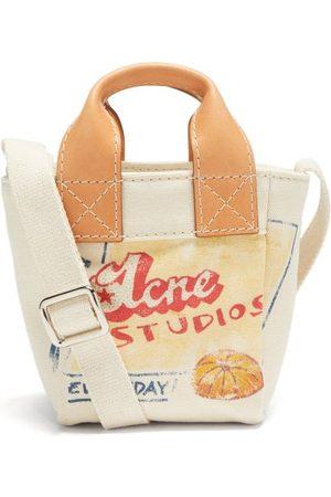Acne Studios Logo-print Canvas Cross-body Bag - Womens - Multi