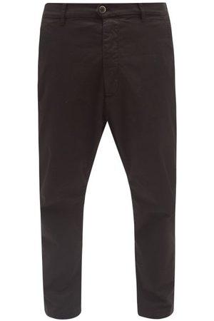 BARENA Men Straight Leg Pants - Rostro Cotton-blend Straight-leg Trousers - Mens