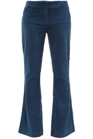 Acne Studios Cotton-blend Corduroy Flared-leg Trousers - Womens