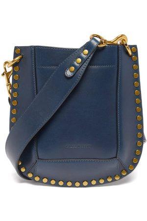 Isabel Marant Women Purses - Nasko Studded Leather Shoulder Bag - Womens - Navy