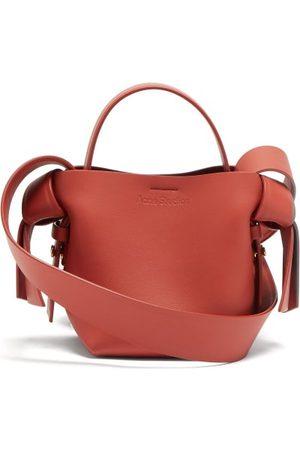 Acne Studios Women Purses - Musubi Mini Leather Cross-body Bag - Womens - Coral