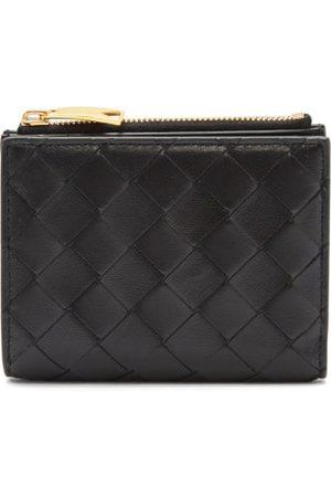 Bottega Veneta Intrecciato-leather Compact Wallet - Womens