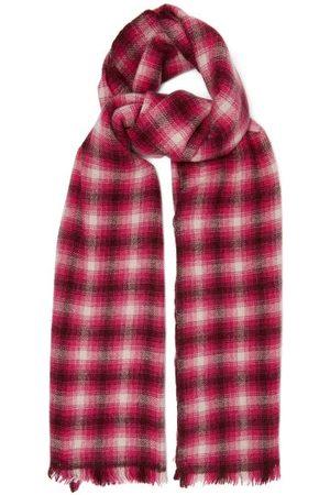 Isabel Marant Dash Check Wool-blend Scarf - Womens - Multi
